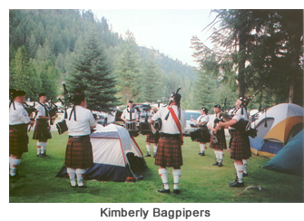 kimberly bagpipers